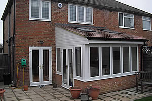 Single storey extension in Orpington
