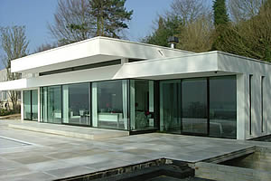 New build modern bungalow in Crockham Hill, Kent