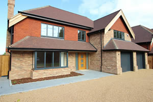 Luxury detached new build houses in Sevenoaks