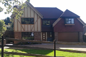 Large detached new build house in Badgers Mount