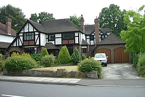 Detached house in Petts Wood extended
