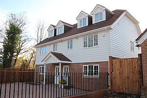 New build house in Tonbridge, Kent